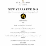 NEW YEARS EVE 3 COURSE DINNER!